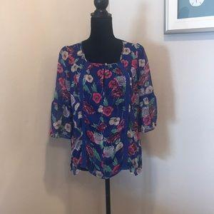 Tops - LC Lauren Conrad floral top